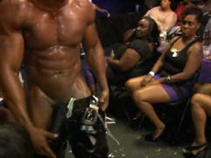 Naked black male stripper pics #3